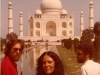 Ma at the Taj Mahal, 1977